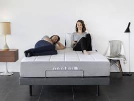 i sleep on an adjustable bed frame that has a massage function and a zero gravity setting — and yes, it's a game changer