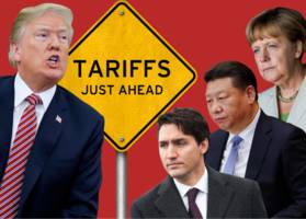 europe's move to impose steel tariffs tips over another domino in trump's trade war with china