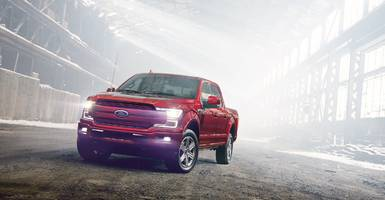 ford is working on an all-electric version of its f-150 pickup truck (f)