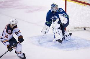 chiasson scores in shootout, oilers outlast canucks 3-2