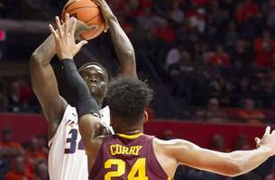 gophers' road woes continue with 95-68 loss to illinois