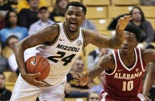 mizzou's conference struggles continue with 70-60 loss to alabama