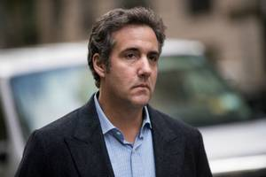 michael cohen hired tech consultant to rig online drudge, cnbc polls for trump (report)