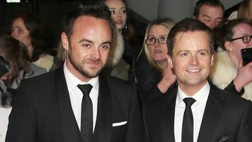 Ant McPartlin returning to work with Dec on Friday