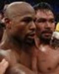 floyd mayweather vs manny pacquiao 2 to be announced after adrien broner bout - hearn