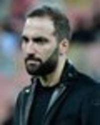 Gonzalo Higuain to fly to London on FRIDAY to seal Chelsea move and have medical - Pedulla