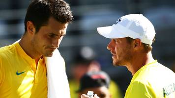 lleyton hewitt says bernard tomic has threatened and 'blackmailed' him