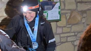 nursing mother smashes 268-mile montane spine race record
