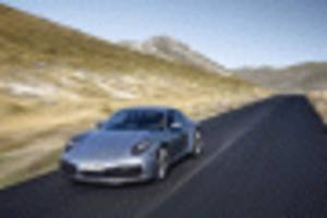 2020 porsche 911 carrera s laps 'ring in 7:25, or 5 s faster than previous-gen