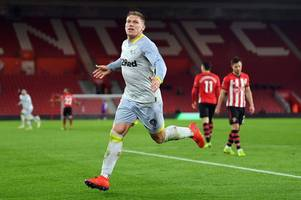 How Derby County overshadowed Brexit on dramatic night at Southampton