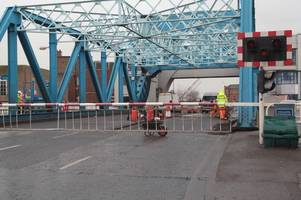 anger as contractors 'stop working' on north bridge after just 5 hours - here's what the council say