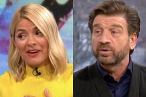Nick Knowles interrupts Holly Willoughby on This Morning to hit out at I'm a Celeb crew
