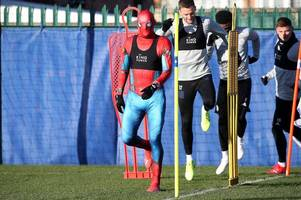 claude puel wants more superheroes after jamie vardy's spider-man stunt at leicester city