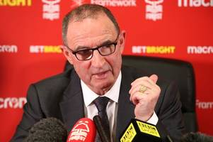 everything new nottingham forest boss martin o'neill had to say in his first press conference
