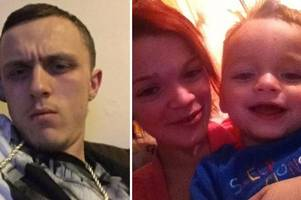 first picture of gravesend mum's boyfriend accused of crushing toddler alfie lamb, 3, to death