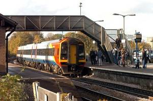 person killed after being hit by train in somerset