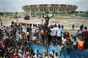 african union said it doubts results of congo election