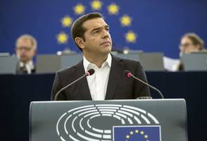 [UPDATE] Greek Prime Minister Narrowly Survives Confidence Vote In Parliament