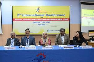 teri school of advanced studies organizes the 2nd international conference on business, economics and sustainable development (icbesd - 2019)