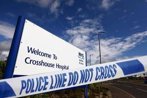 man jailed after assaulting emergency service workers at crosshouse hospital