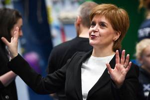 nicola sturgeon preparing to pull indyref2 trigger in 'the next few weeks'