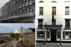 the grand, spectacular and historic hotels that all vanished from swansea bay