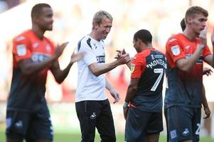 graham potter on 'unique' swansea city star jefferson montero and why he's not starting
