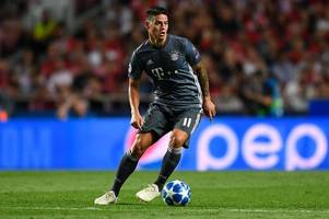 bayern munich manager speak out on james rodriguez's future amid talk of £3m arsenal loan move