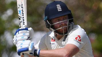bairstow makes 98 in england warm-up as wood replaces injured stone