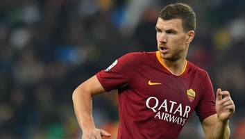 west ham eye ambitious move for roma striker edin dzeko as replacement for marko arnautovic