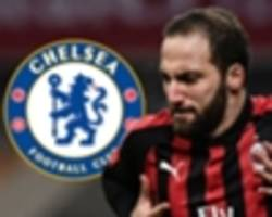 chelsea told higuain is the man to rekindle title aspirations and counter morata struggles