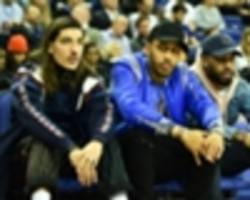extra time: aubameyang, zaha & iwobi turn up at nba london game