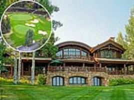 billionaire lists luxurious colorado ranch for $46 million complete with private trout fishing