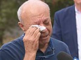 Murdered Israeli student Aiia Maasarwe's father breaks down at scene as man, 20, is arrested
