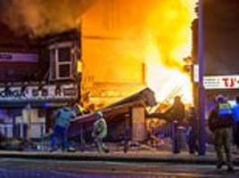 leicester explosion: shopkeeper and accomplices are jailed for life