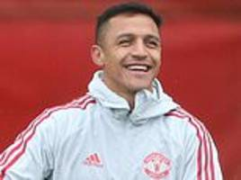 alexis sanchez primed to return from injury for brighton clash