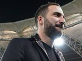 chelsea must sign gonzalo higuain by noon if he is to face arsenal
