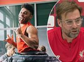 jurgen klopp says alex oxlade-chamberlain will play for liverpool this season