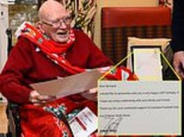 liverpool manager jurgen klopp sends invitation to crystal palace game to 104-year-old fan