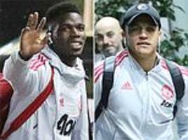 man united stars check into the lowry ahead of brighton clash as solskjaer looks to keep winning