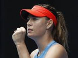 Maria Sharapova rolls back the years to stun Australian Open champion Caroline Wozniacki