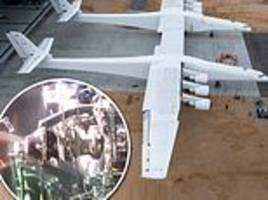 is stratolaunch ready to fly? paul allen's gigantic plane raises nose off the ground in 126mph test