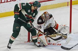 new-look ducks snap losing skid with 3-0 win over wild