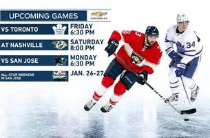 Panthers trying to pull out of 7-game losing streak as Maple Leafs visit