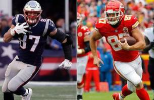 it's the afc title game newbies vs. the dynasty as chiefs host patriots
