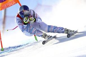 siebenhofer wins downhill, vonn finishes 10th in her return