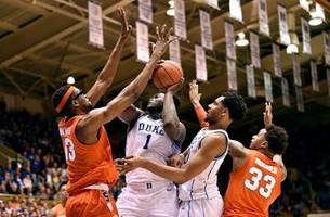 college basketball bracketeering: duke remains a 1 seed despite zion injury, loss to syracuse