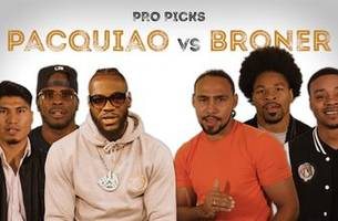 pros predict who will win between pacquiao and broner | pro picks