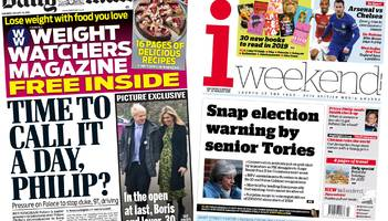 newspaper headlines: prince philip gets a new car - but will he drive it?