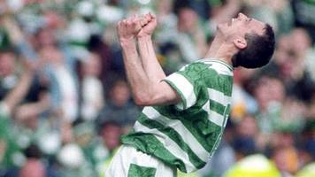 Scottish Cup: Watch Tommy Burns' post-match interview as Celtic beat Airdrieonians in 1995